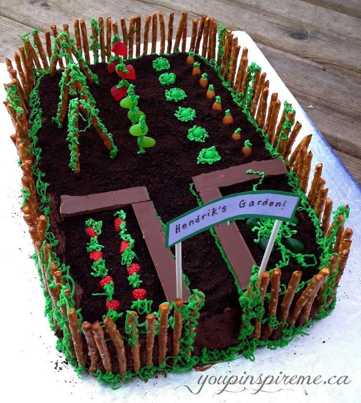 17 Best Ideas About Garden Birthday Cake On Pinterest Garden