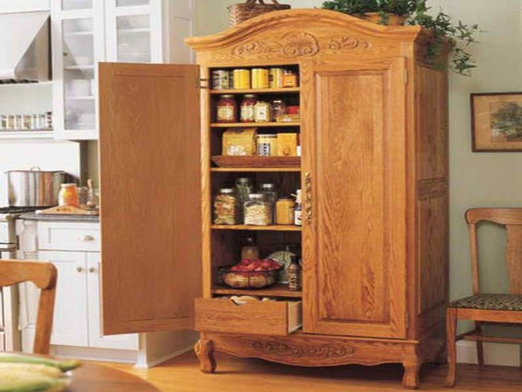 1000 ideas about Free Standing Pantry on Pinterest