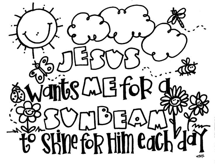 Let Your Light Shine Coloring Page With Bible Coloring Pages