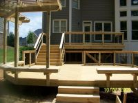 25+ best ideas about Two level deck on Pinterest | Tiered ...