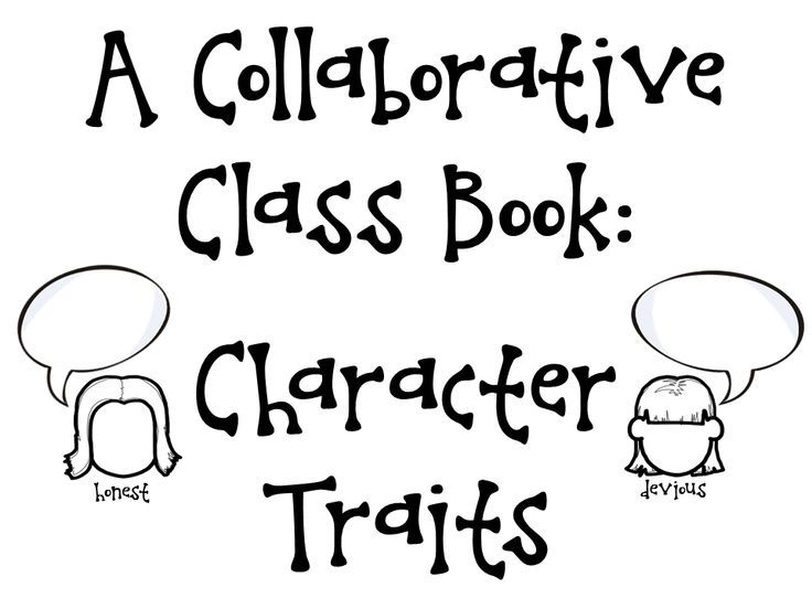 25+ best ideas about Character Traits Activities on