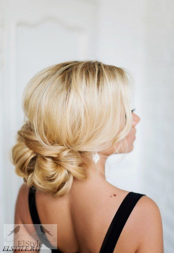 25 best ideas about Low Updo Hairstyles on Pinterest