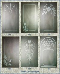 Etched Window Design | 2D-Design | Pinterest | Window ...