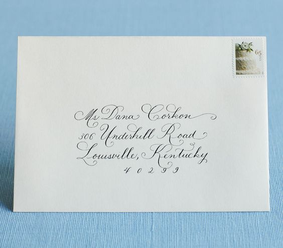How to Address Wedding Invitations  Envelopes How to