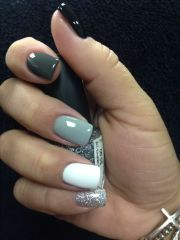 ideas winter nail