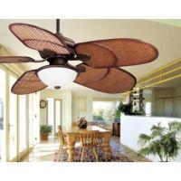 "52"" Casa Vieja Rattan Outdoor Tropical Ceiling Fan ..."