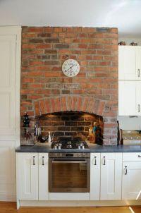 Exposed Brick Fireplaces on Pinterest. 100+ inspiring ...