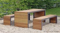 Modern picnic table by Westeifel Werke #contemporary ...