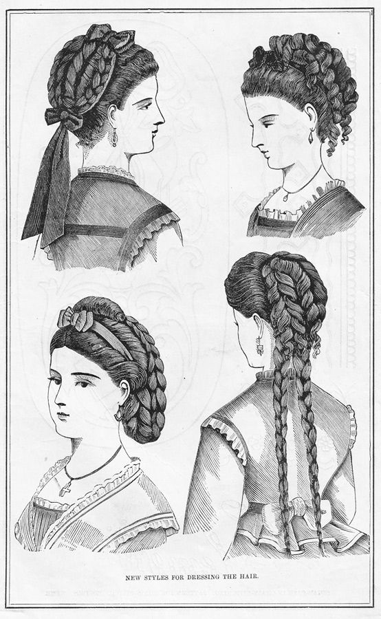 27 best images about 19th century hairstyles on Pinterest