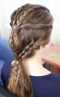 25+ best ideas about Viking braids on Pinterest