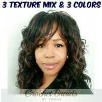 crochet braids with yaki pony tail cut in half 1000 images ...