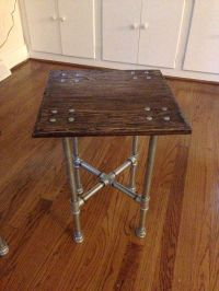 Interesting square iron pipe table | Living Room ...