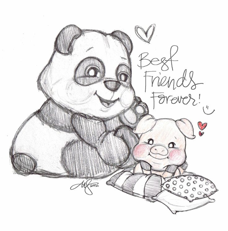 Bff Drawings Funny