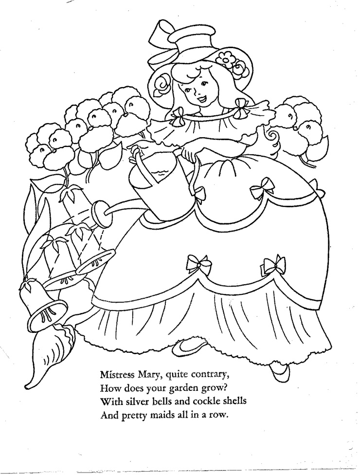 1000+ images about Embroidery: nursery rhymes on Pinterest