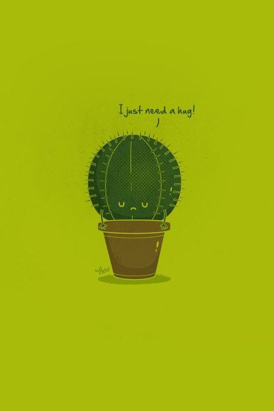 Cute Hug Wallpaper Cacti Need Hugs Too 3 Super Kawaii V Pinterest