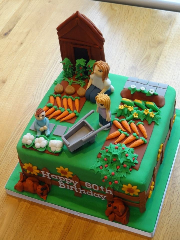 Best 25 Garden Birthday Cake Ideas On Pinterest Fairy Garden