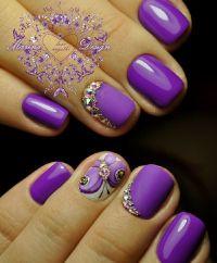 25+ best ideas about Matte purple nails on Pinterest ...