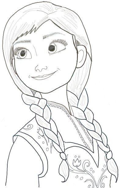 Gallery Easy Frozen Characters To Draw