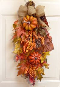 Fall Swag | Wreaths | Pinterest | Fall swags, Fall and Swag