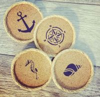 1000+ ideas about Cork Coasters on Pinterest