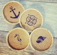 1000+ ideas about Cork Coasters on Pinterest   Wine cork ...