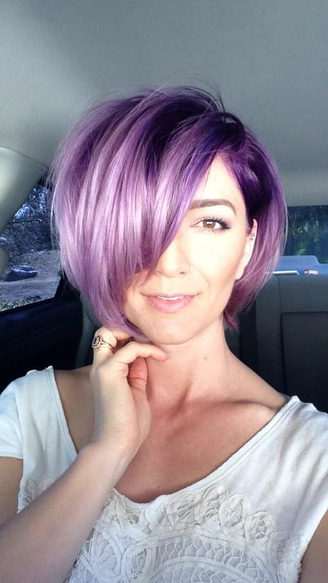 25+ best Plum purple hair ideas on Pinterest