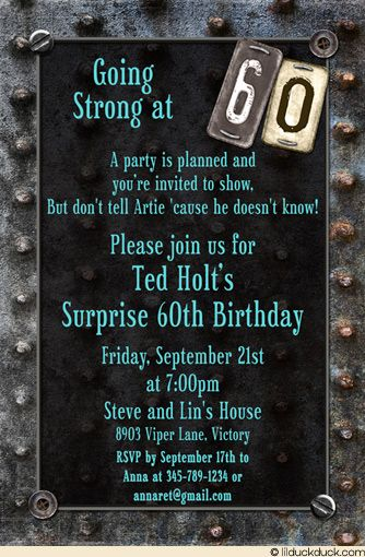 invitation to birthday party text