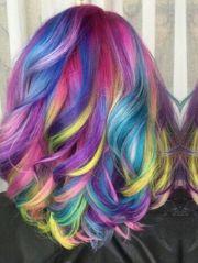 rainbow dyed hair ideas