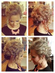 loose updo short hair. hair