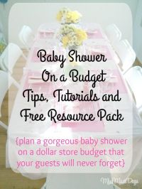 25+ best ideas about Budget Baby Shower on Pinterest | Diy ...