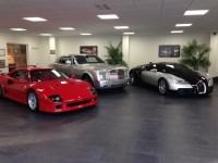 Porcelain tiles for Luxury Car Showroom | Garage Flooring ...