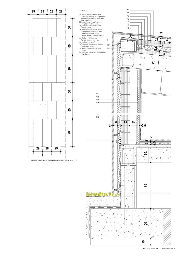 541 best images about Facade as Wall Section on Pinterest