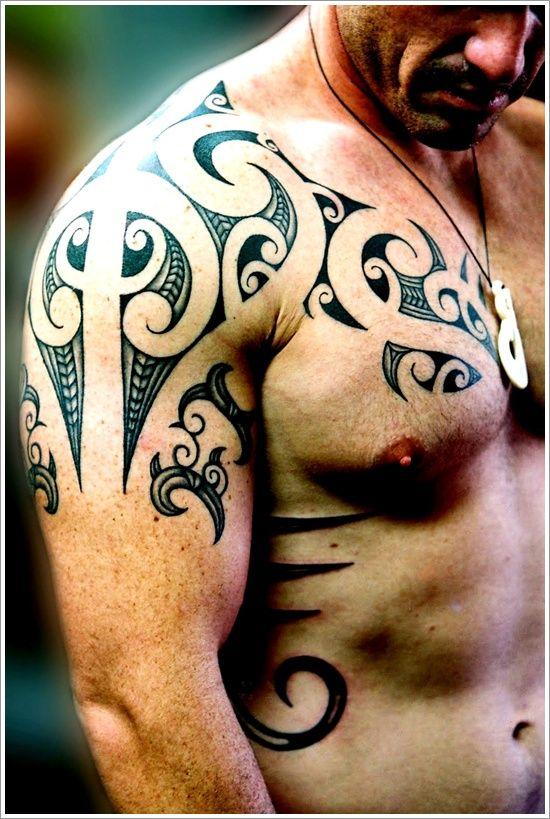 Shoulder Easy Simple Tattoo Designs For Men