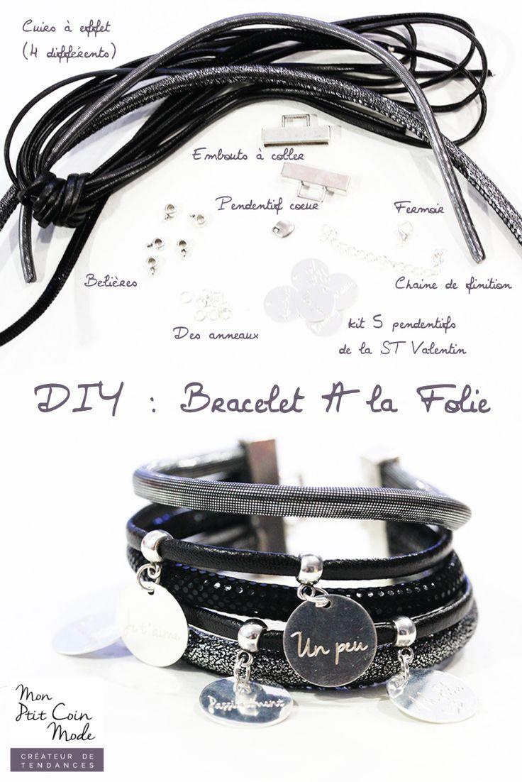 1000 idées sur le thème Tutoriel De Bracelet sur Pinterest