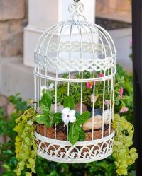 25+ great ideas about Bird Cages Decorated on Pinterest ...