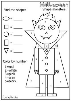 101 Best images about Pre-School Halloween Worksheets on
