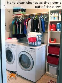 17 Best images about Walk in pantry and laundry ...