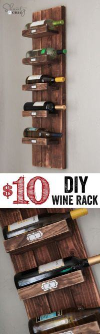 Diy Wine Racks Ideas - WoodWorking Projects & Plans