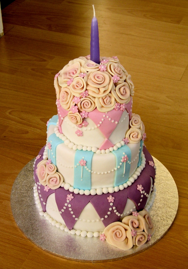 Mums 50th Birthday Cake 2004 Birthday Cakes Pinterest Party Cakes Birthday Cakes And