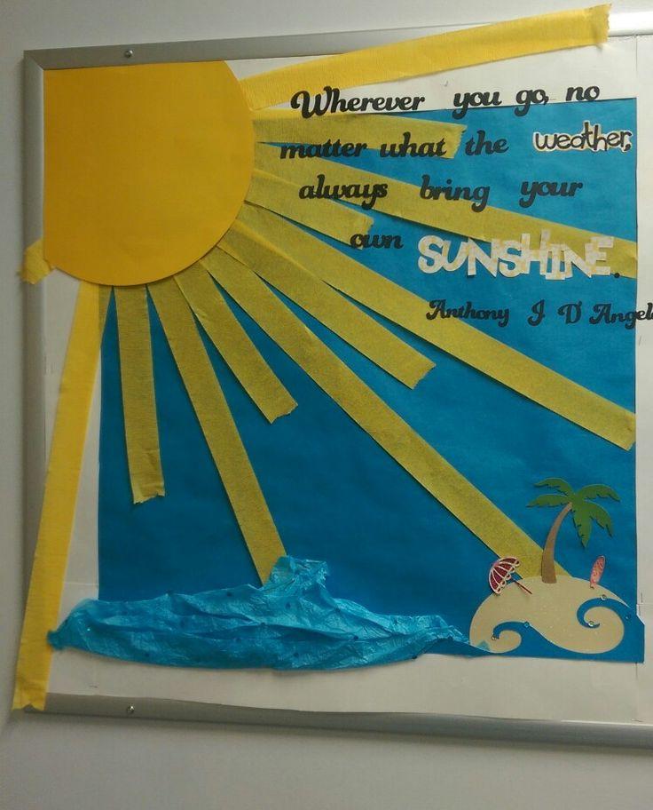 Front Range Christian School Home: Summer Sun Bulletin Board Ideas