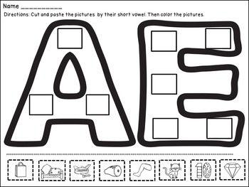 25+ best ideas about Short vowel activities on Pinterest