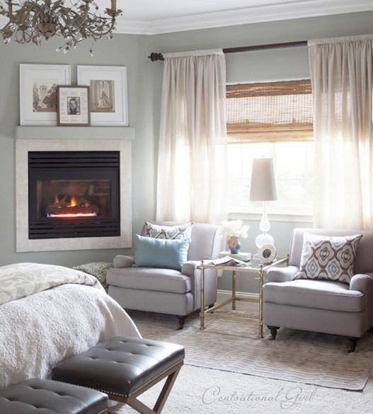 Love The Window Dressings And Chairs Not Sure My Bedroom Is Large Enough For A Master Bedroommaster Suitemaster