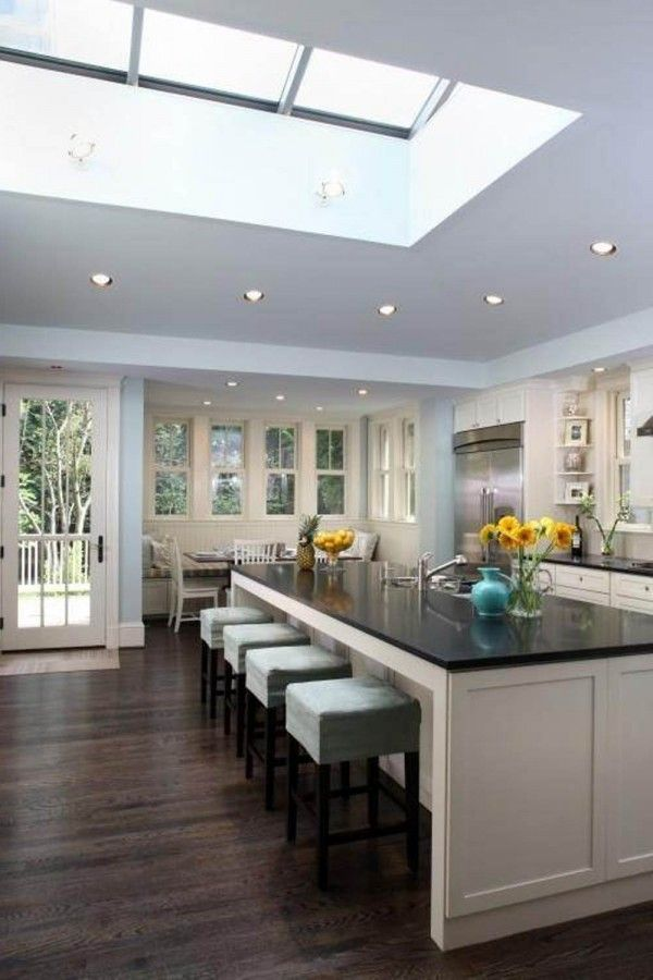 awesome open kitchen floor plans 600x900 Open Kitchen