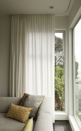 45 Best Images About Ceiling Mounted Curtain Tracks On Pinterest