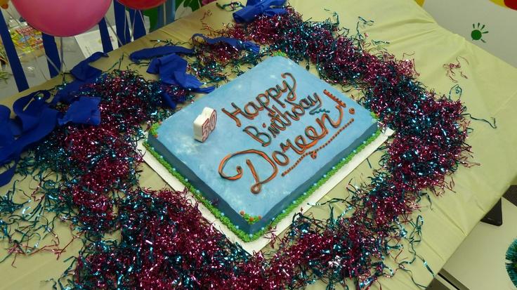 Card Founder Dr Doreen Granpeesheh S Birthday Cake Happy