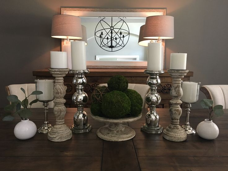 25+ Best Ideas About Dining Room Centerpiece On Pinterest