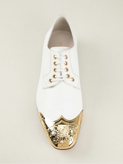 Zapatos Versace whitegoldpoint shoes  Men