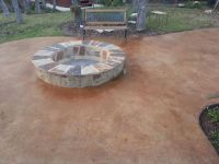 Best 25+ Concrete patio stain ideas on Pinterest