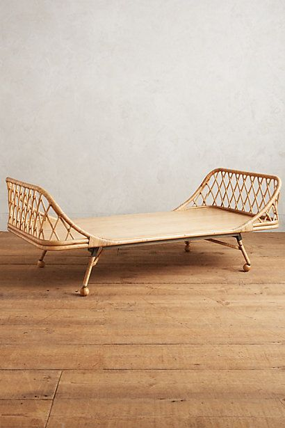 Pari Rattan Daybed  Mattress I love and Anthropologie