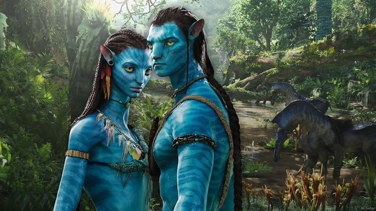 Avatar D Wallpaper Neytiri Amp Jake Avatar Navi Images Pinterest